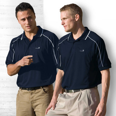 Picture of Dri Gear Eyelet Polo - Mens