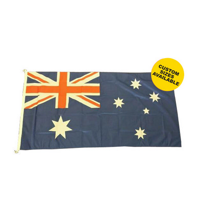Picture of 135 GSM Shiny Polyester Flag - 2500mm x