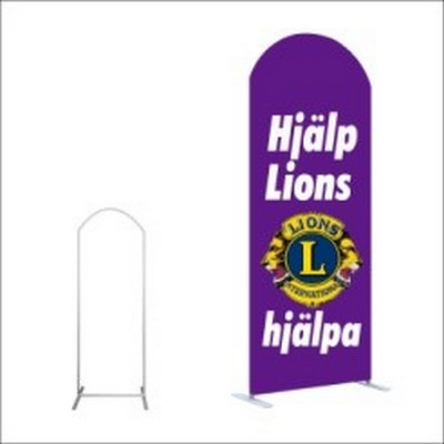 Picture of Tension Fabric Display -H-Shape Curved T