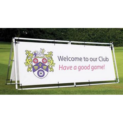 Picture of Double Sided Vinyl Banner with Aluminium