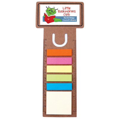 Picture of Business Card Bookmark  Noteflag Ruler