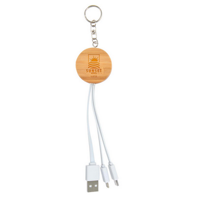 Picture of Rise Bamboo 3 in 1 Power Cable