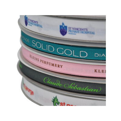 Picture of Exact Colour Print on Ribbon Dyed to PMS