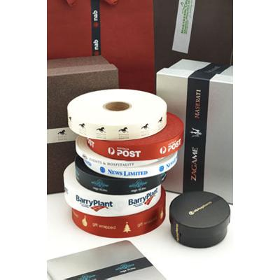 Picture of Sticky Printed Satin Ribbon 10mm