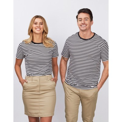 Picture of Mens Stevie Stripe T-shirt - 170gsm