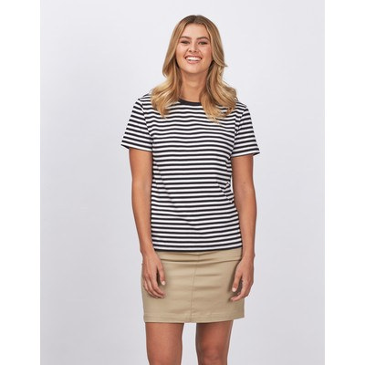 Picture of Ladies Stevie Stripe T-shirt - 170gsm
