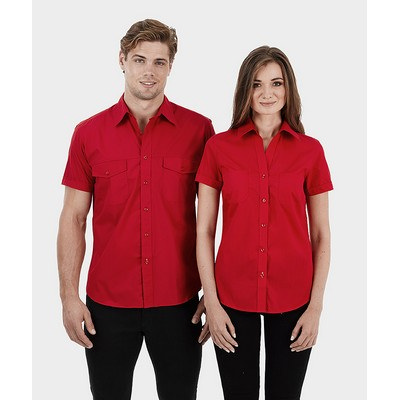 Picture of Ladies Short Sleeve Ultra Cool Shirt wit