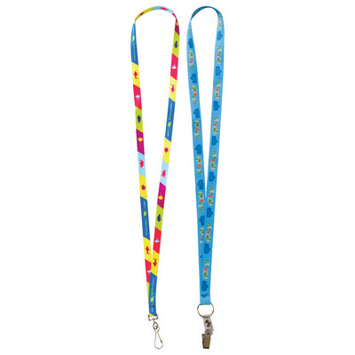 Picture of 10mm Custom Lanyard