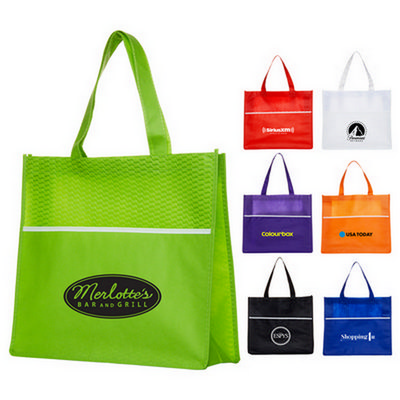 Picture of Shopping Tote Bag with Waves