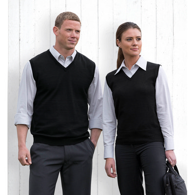 Picture of Merino Fully Fashioned Vest - Mens