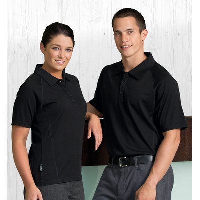 Picture of Merino Short Sleeve Polo - Mens