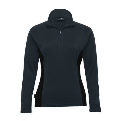 Picture of Merino Contrast Insert Pullover  Womens