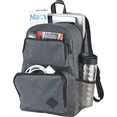 Picture of Graphite Deluxe 15 inch Computer Backpack