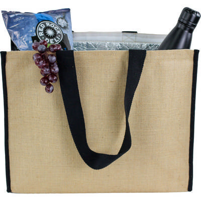 Picture of Laminated Jute Cooler bag