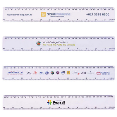 Picture of White 30cm Ruler