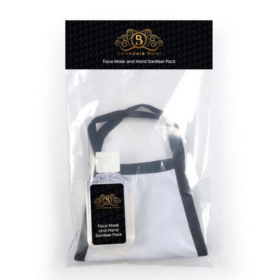 Picture of Shield Face Mask / Hand Sanitiser Pack