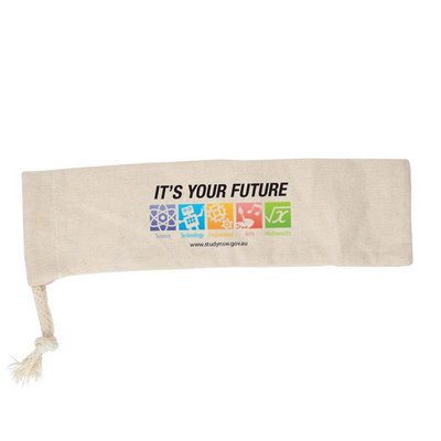 Picture of Calico Drawstring Pouch