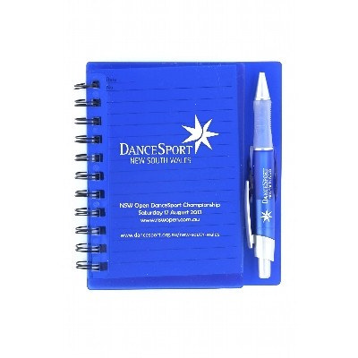 Picture of Spiral Notebook With Mathcing Pen