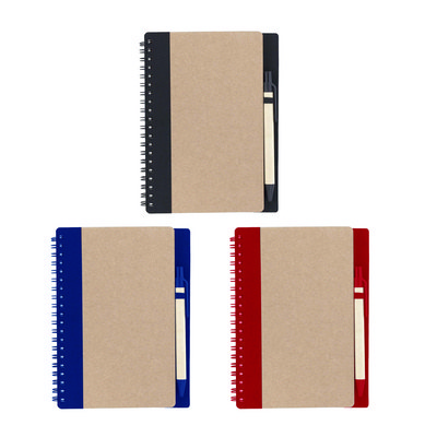 Picture of Notebook With Recycled Cover And Pen