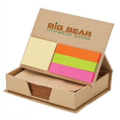 Picture of Eco Post-It Notes Box