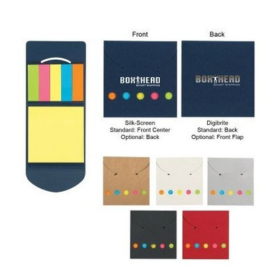 Picture of Sticky Notes And Flags In Pocket Case