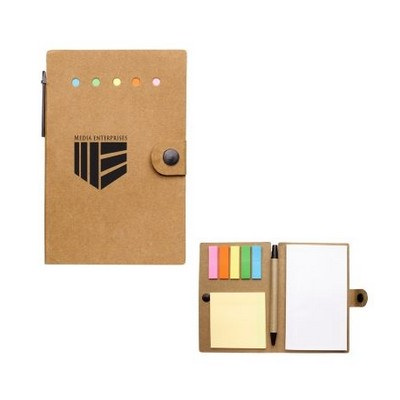 Picture of Small Snap Notebook With Desk Essentials