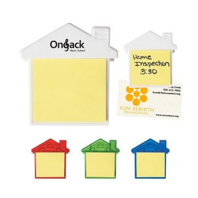 Picture of House Clip With Sticky Notes
