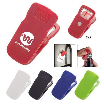 Picture of Magnetic Bottle Opener Clip