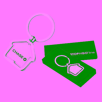 Picture of Metal House Keyring