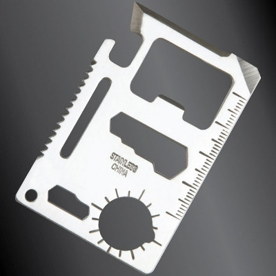 Picture of Multi Tool Metal Keyring - 11 Function S