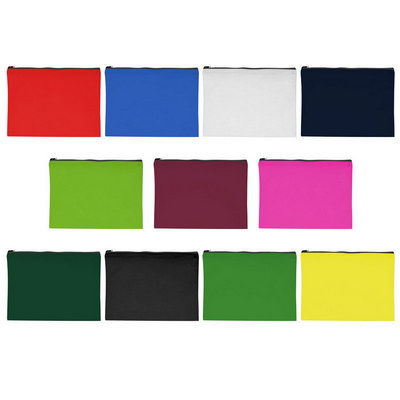 Picture of Non-Woven Document Sleeve With Zipper