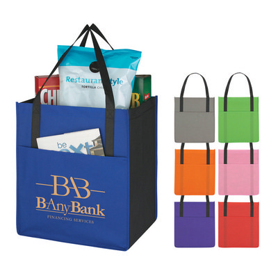 Picture of Non-Woven Shopper With Pocket