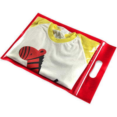 Picture of Clothing Transparent Zipper Bag