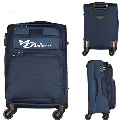 Picture of Spinner Suitcase Canvas Luggage