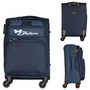 Spinner Suitcase Canvas Luggage