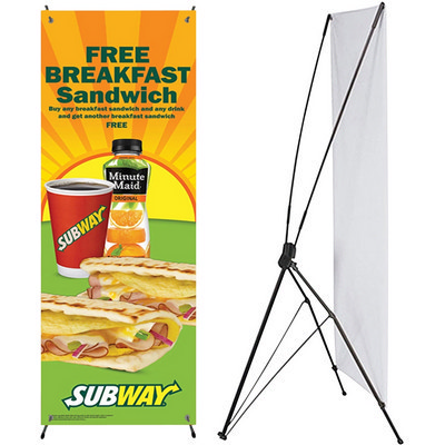 Picture of Adjustable X Banner Stand