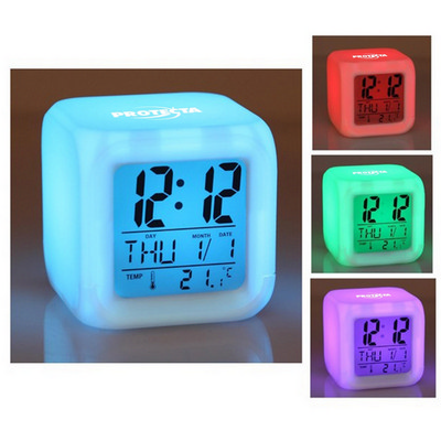Picture of Glowing LED Digital Alarm Clock