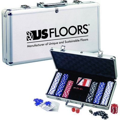 Picture of Deluxe Poker Set with Aluminum Carrying