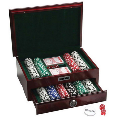 Picture of Executive 500 Piece Poker Set