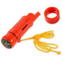 5 in 1 Multi Function Compass Whistle