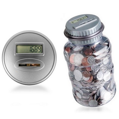 Picture of Digital Coin Counting Piggy Bank