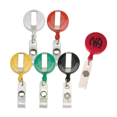 Picture of Round Retractable Badge Reel Coil Badge