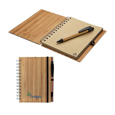 Picture of Albany Bamboo Notebook & Pen