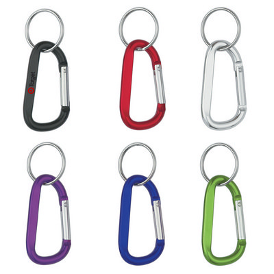 Picture of 8mm Carabiner With Keyring