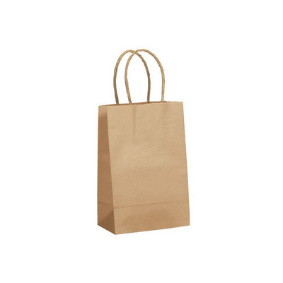 Picture of Kraft Paper Bag Small Includes Twisted P
