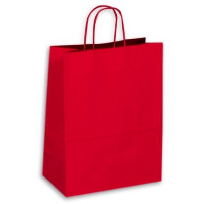 Picture of Kraft Paper Bag Large Includes Twisted P