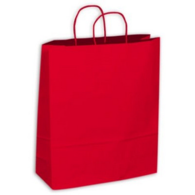 Picture of Kraft Paper Bag - Red Extra Large Includ