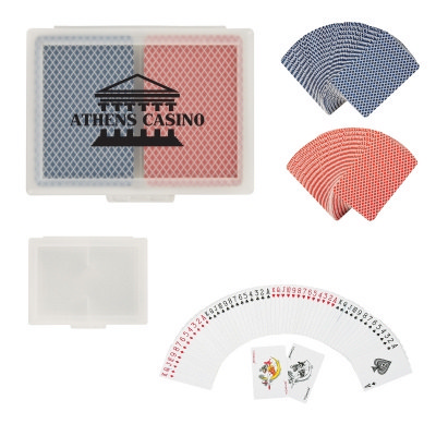 Picture of Double Playing Cards In Case