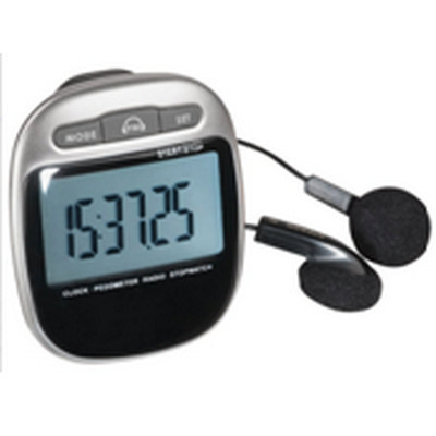 Picture of Pedometer with FM radio