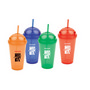 Plastic Cups With Domed Cap